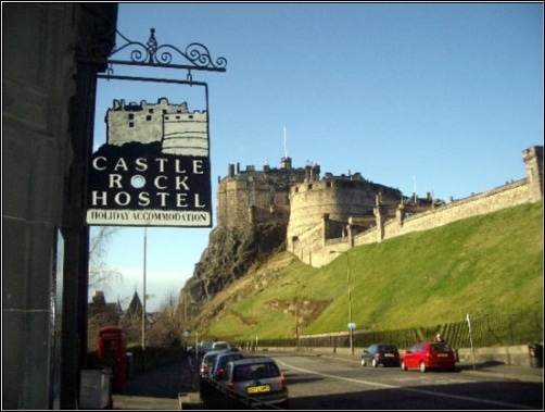 Castle Rock Hostel, Edimburgo