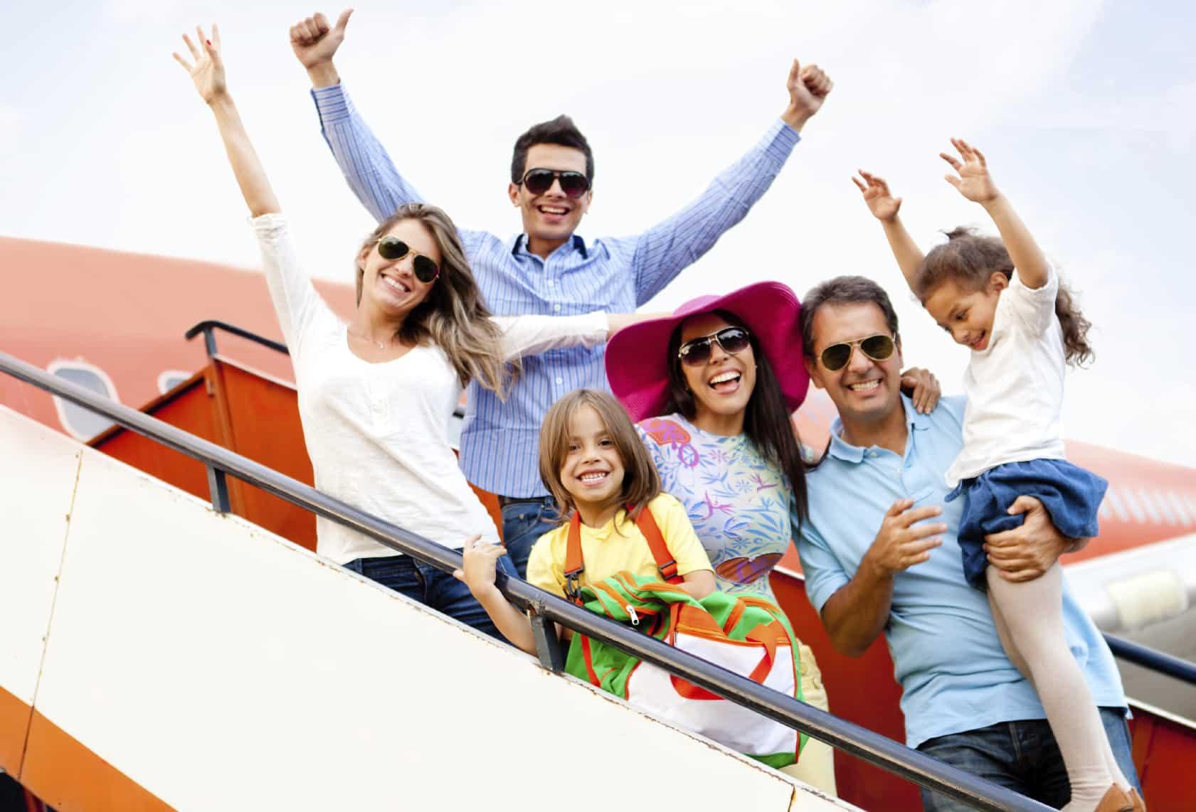Turismo y vacaciones en familia