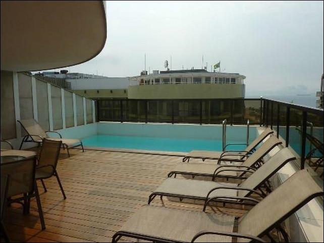 Copacabana Praia Hotel Terraza
