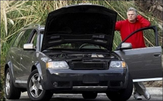 vehículo descompuesto
